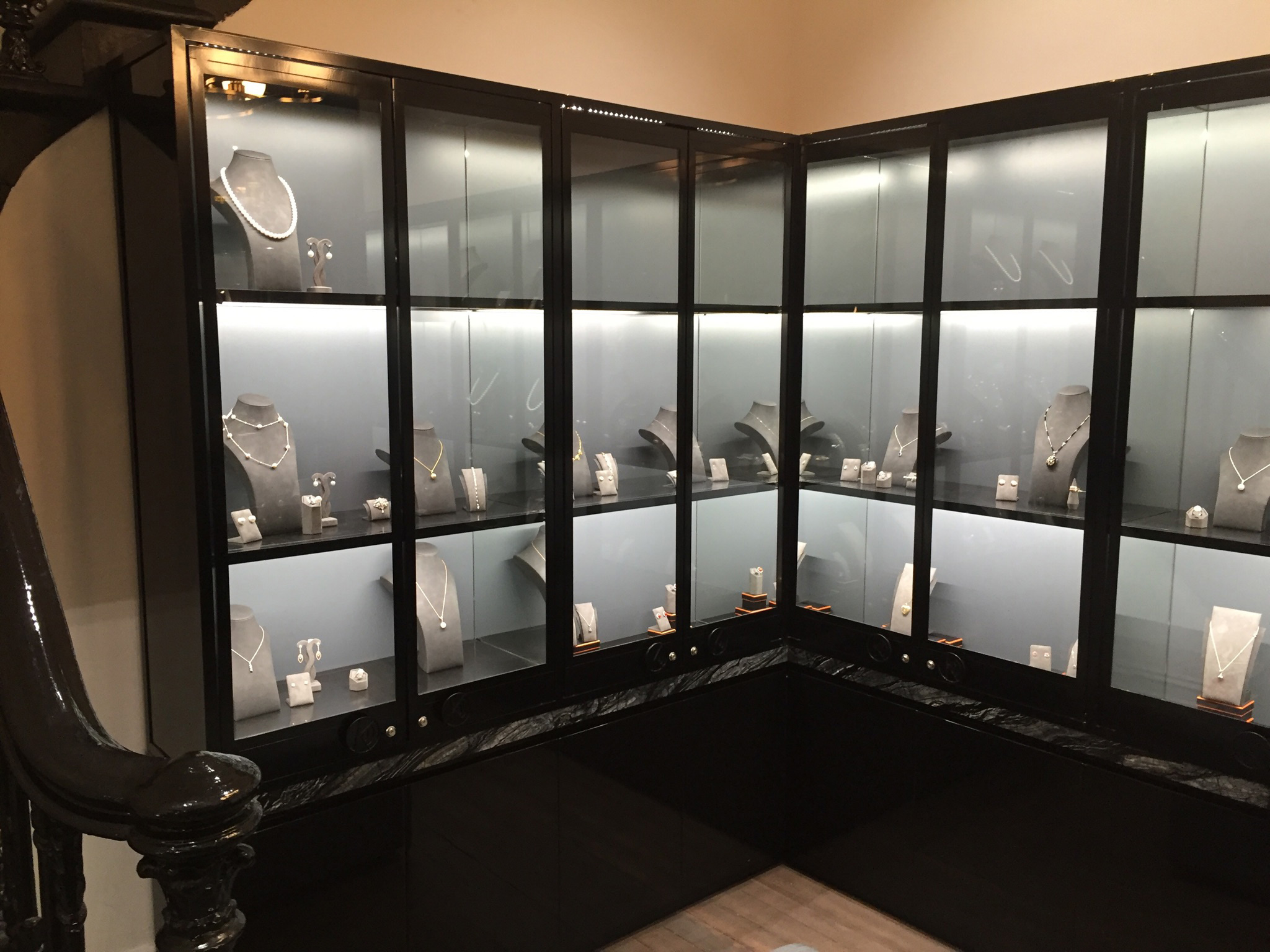 Jewellery Glass Display Cases