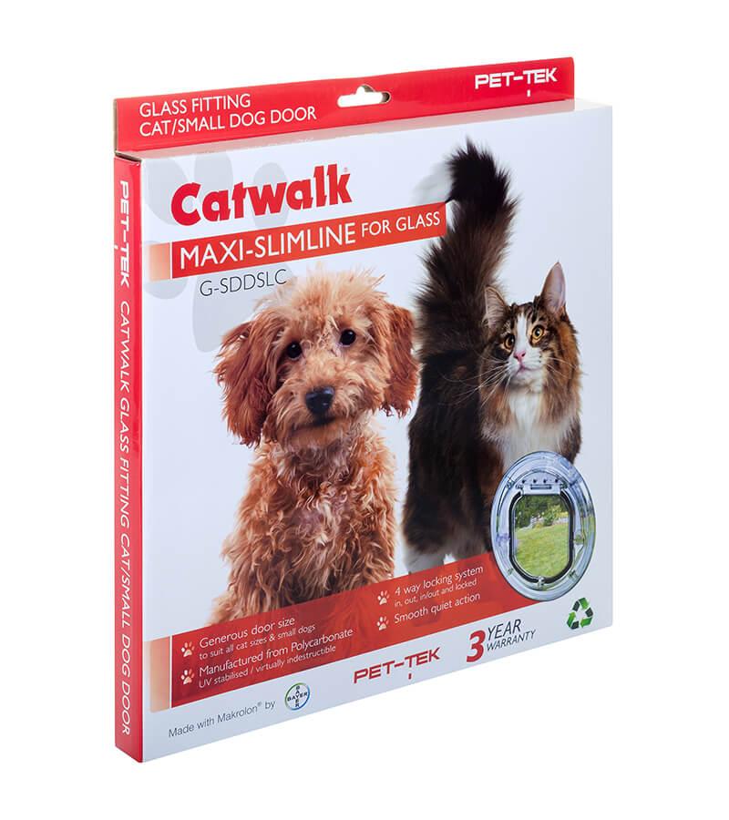 Pet-Tek Catwalk Slimline Cat Door