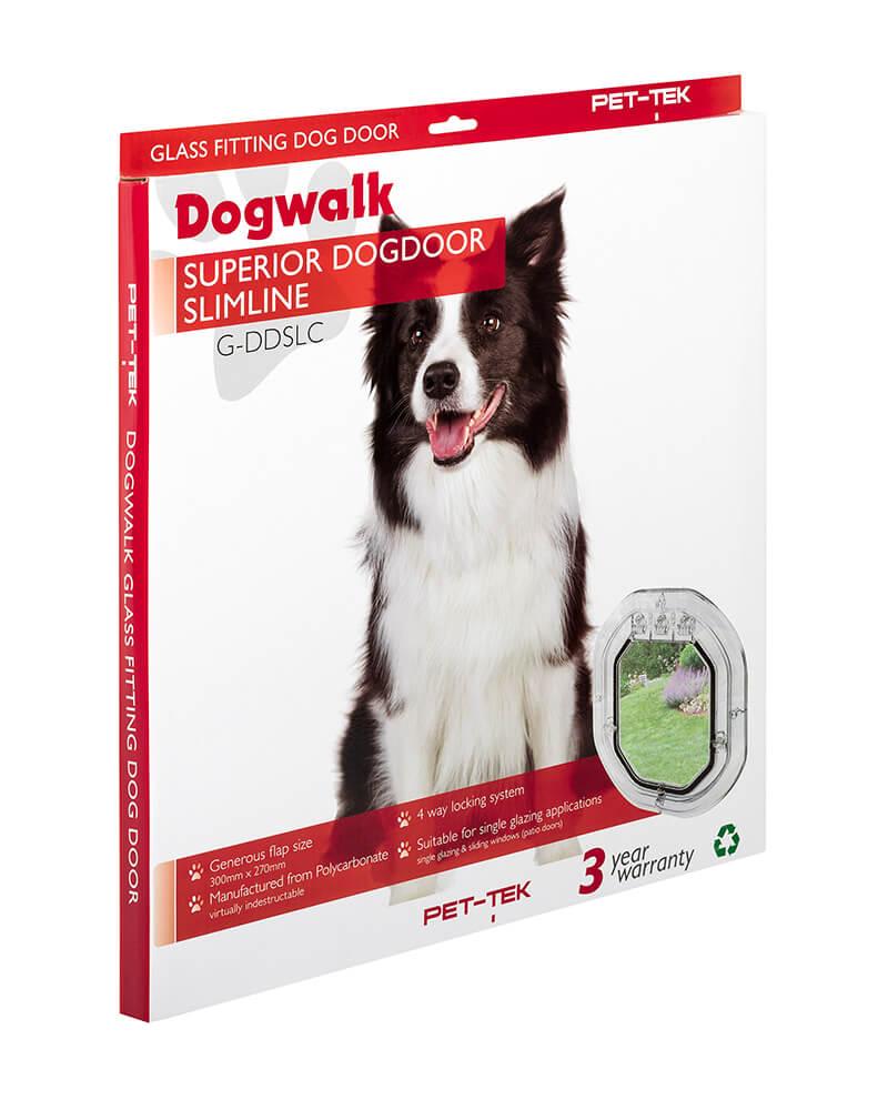 Pet-Tek Dogwalk Slimline Dog Door