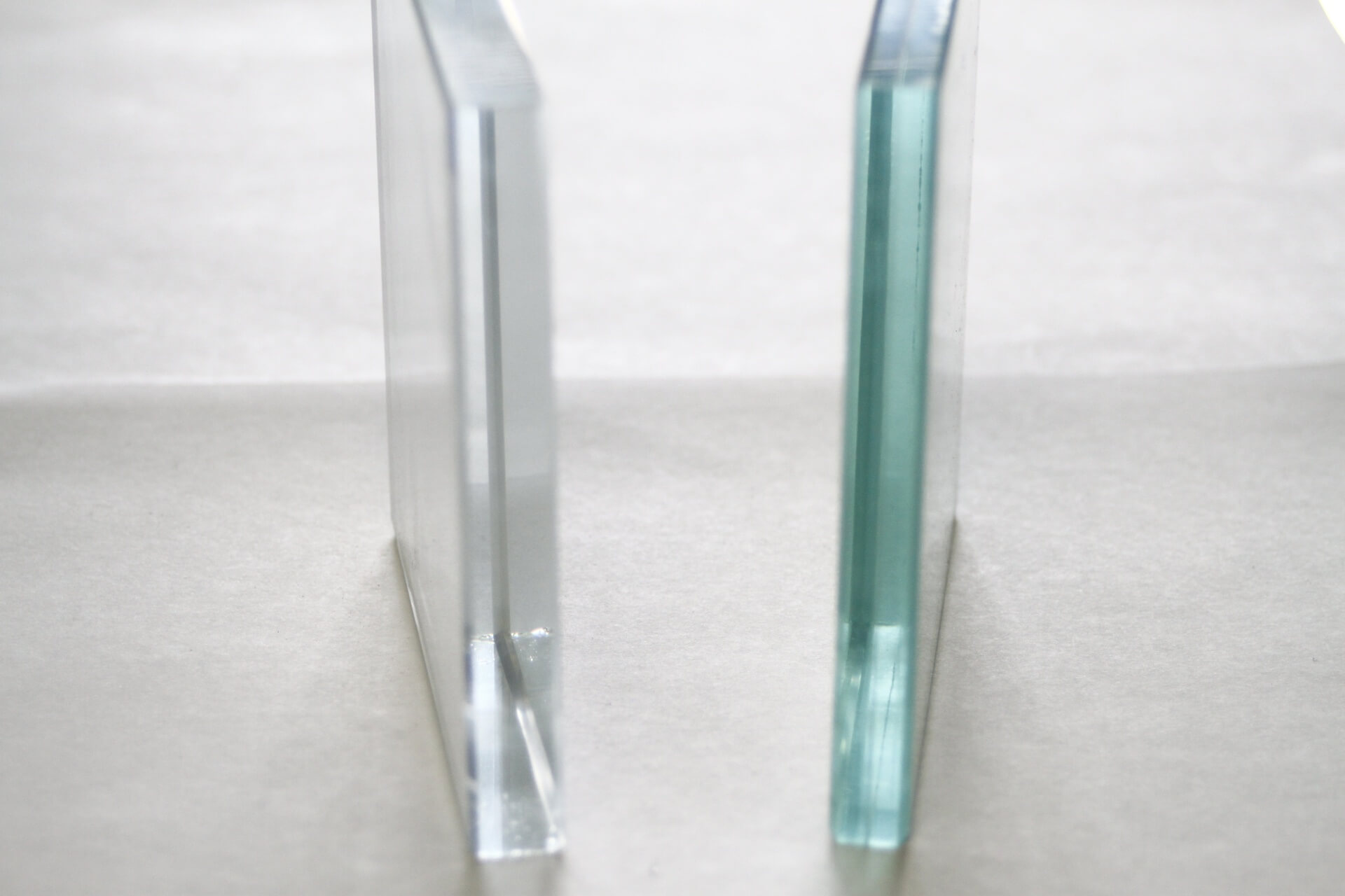 Starphire vs Clear Glass