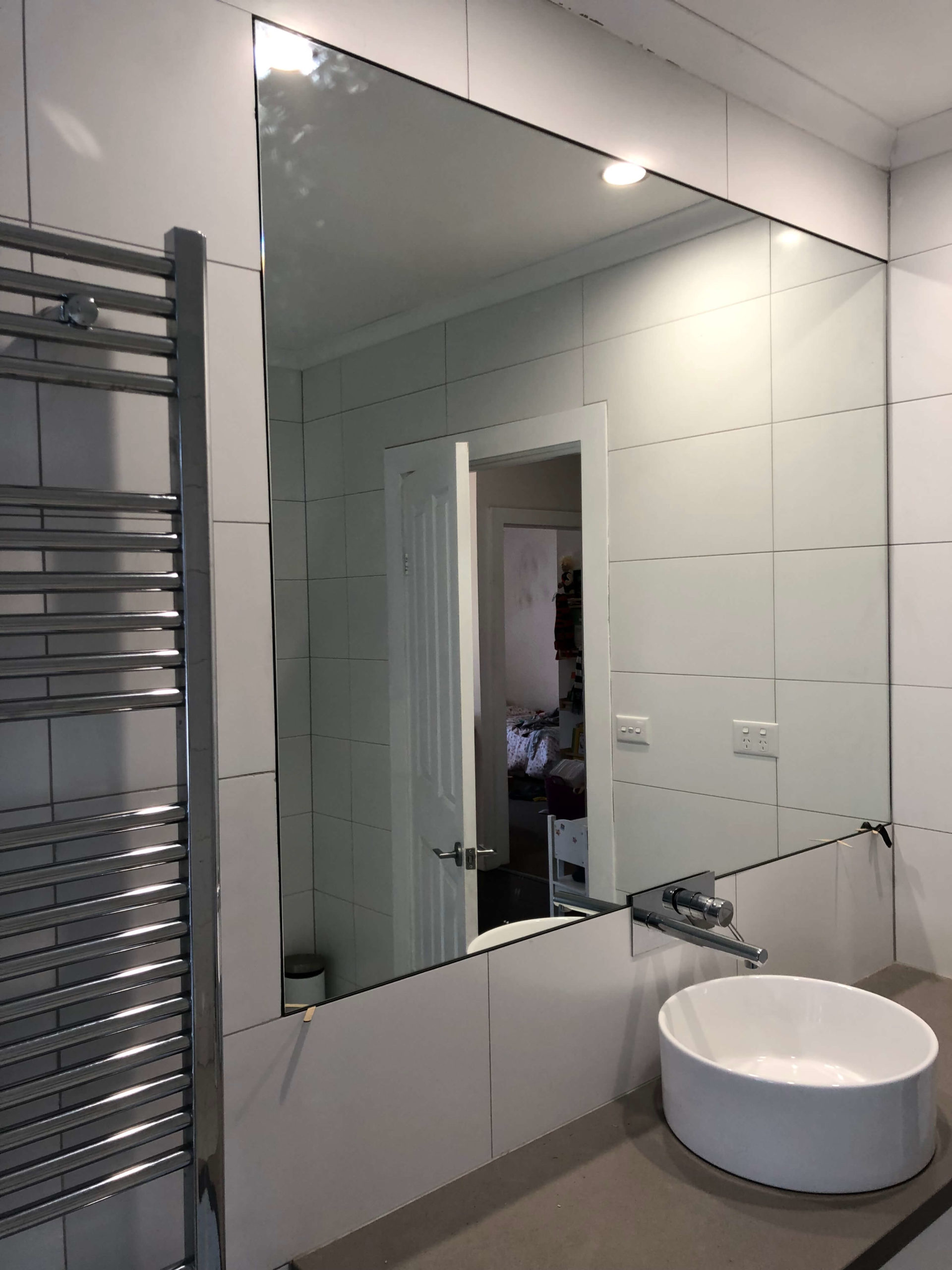Flush Wall Mounted Mirror