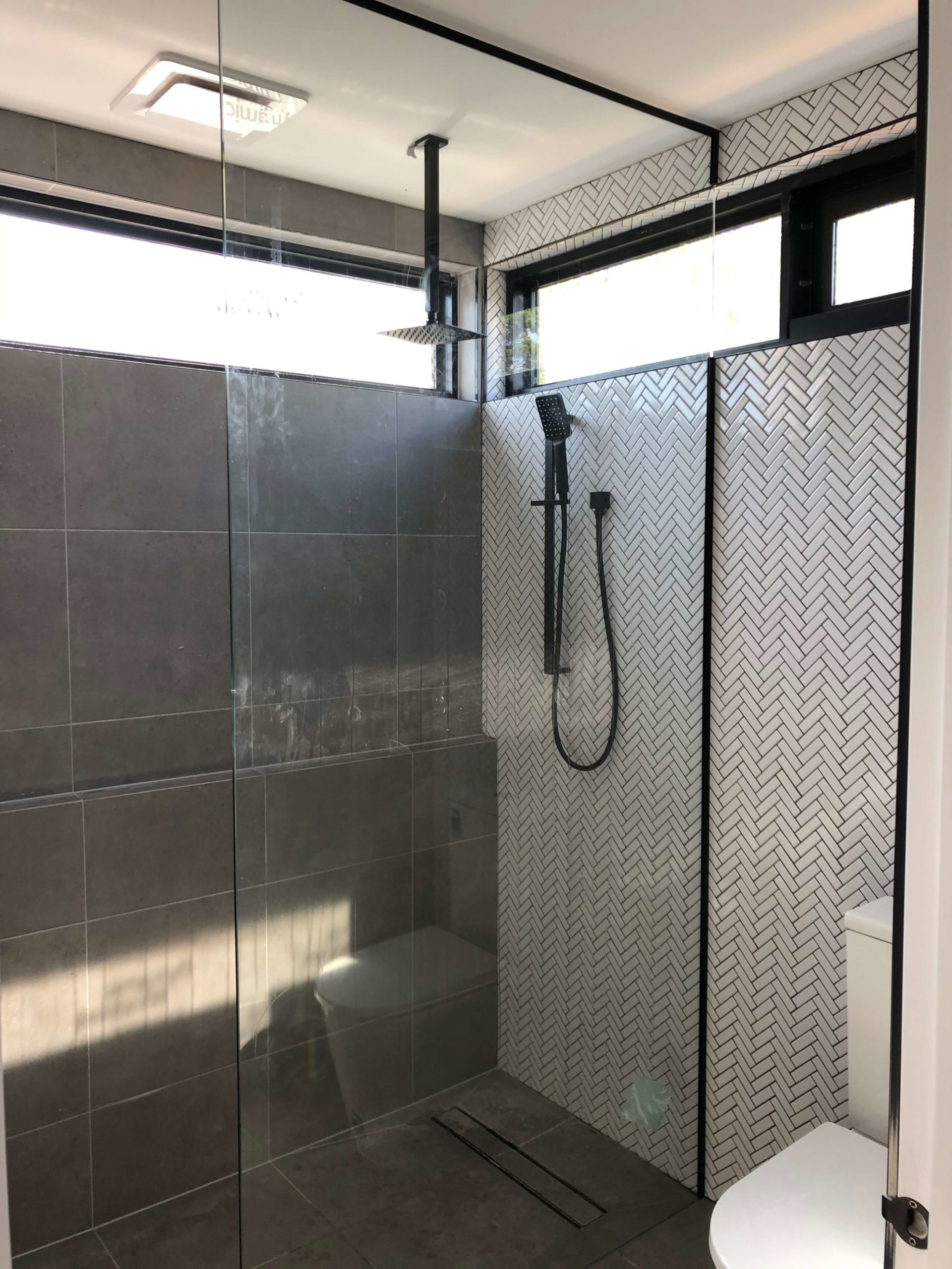 Freestanding Shower Screen Panel