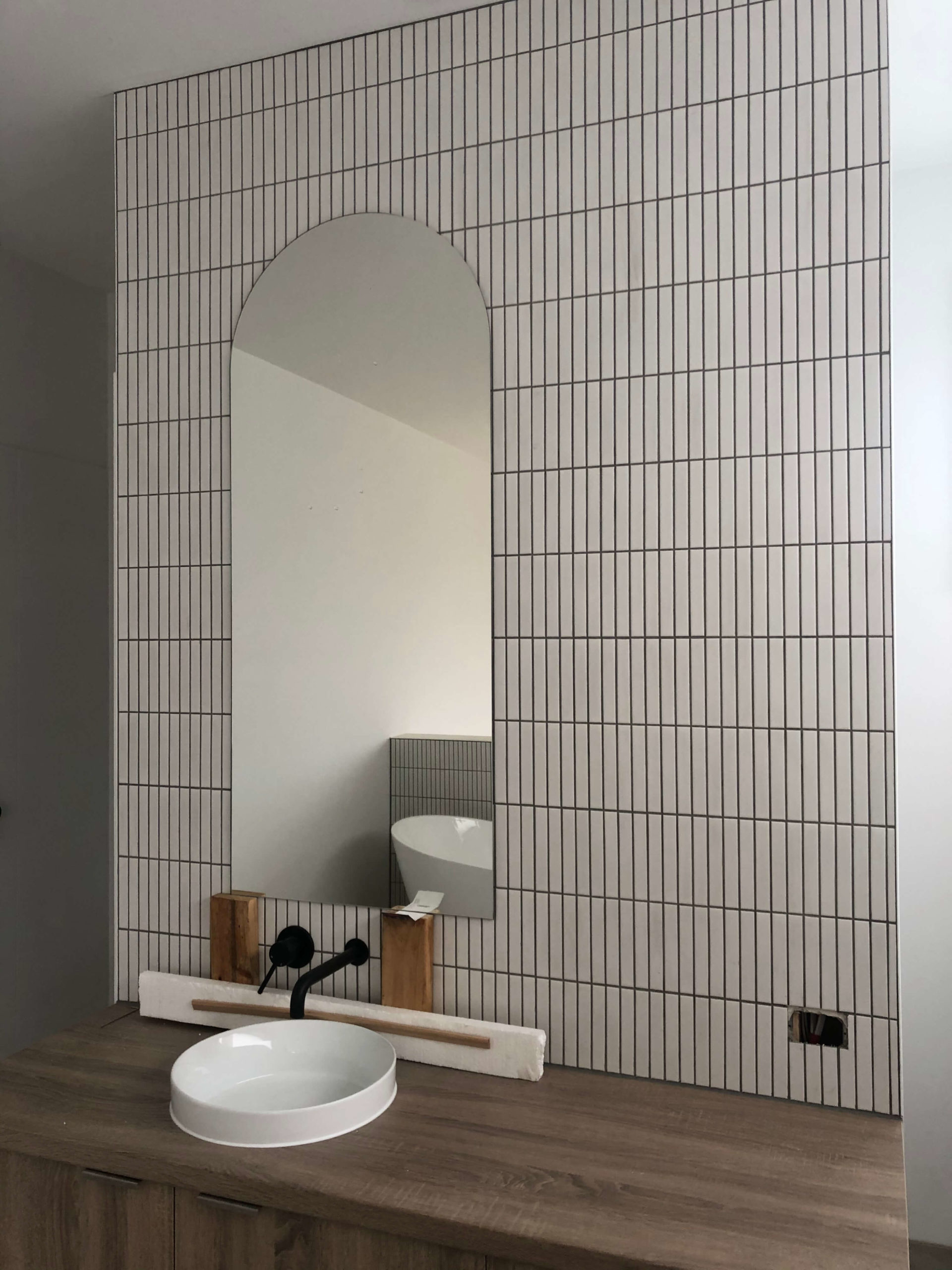 Decorative Shaped Bathroom Mirror