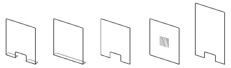 Acrylic Sneeze Guards - Freestanding & Window Models