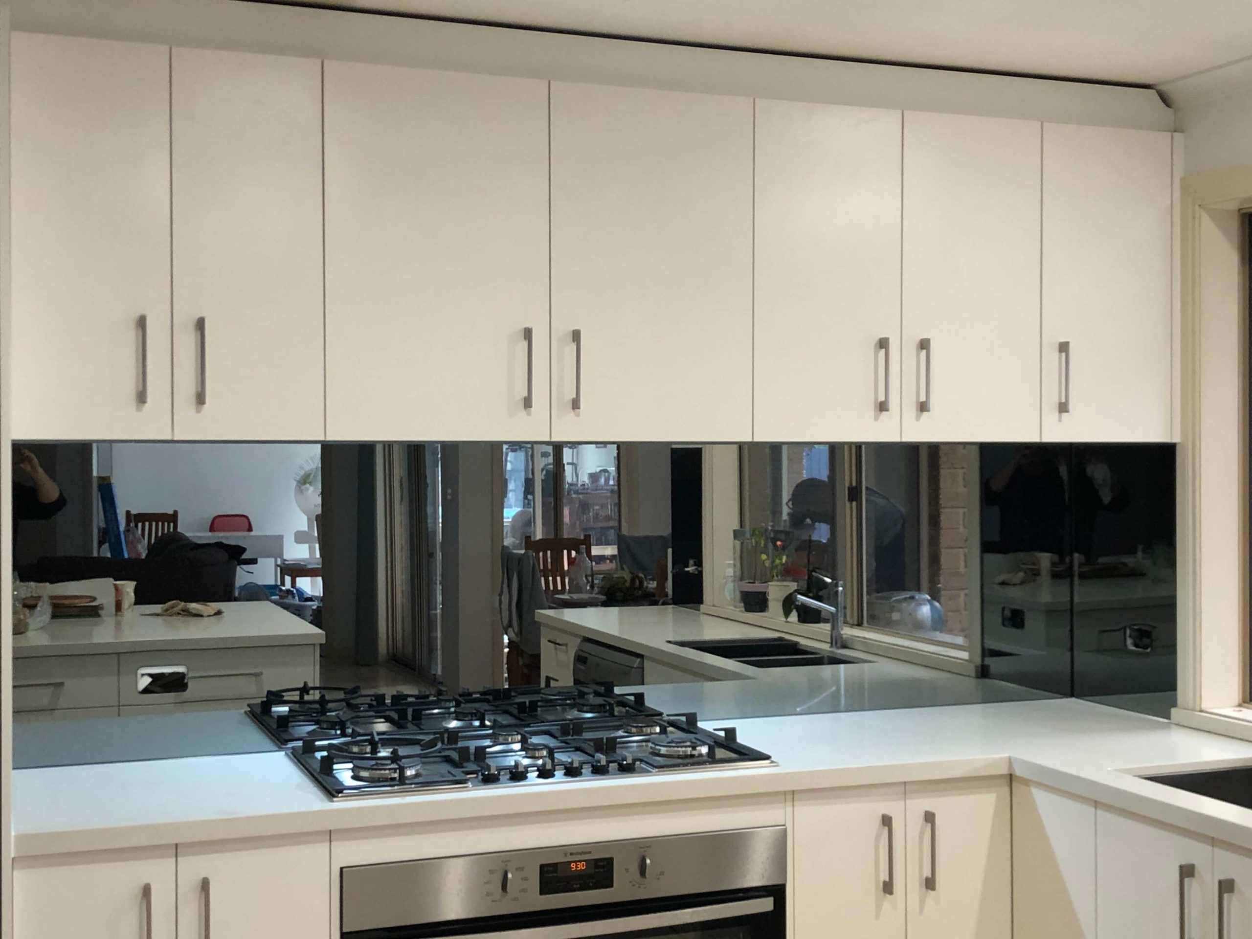 Mirrorstar Reflective Glass Splashback