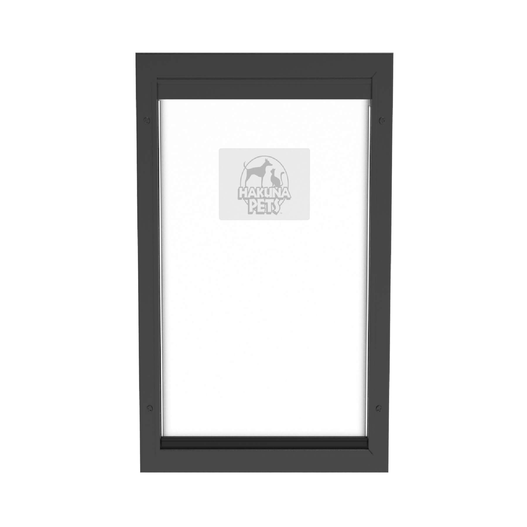 Hakuna Extra Large Black Dog Door