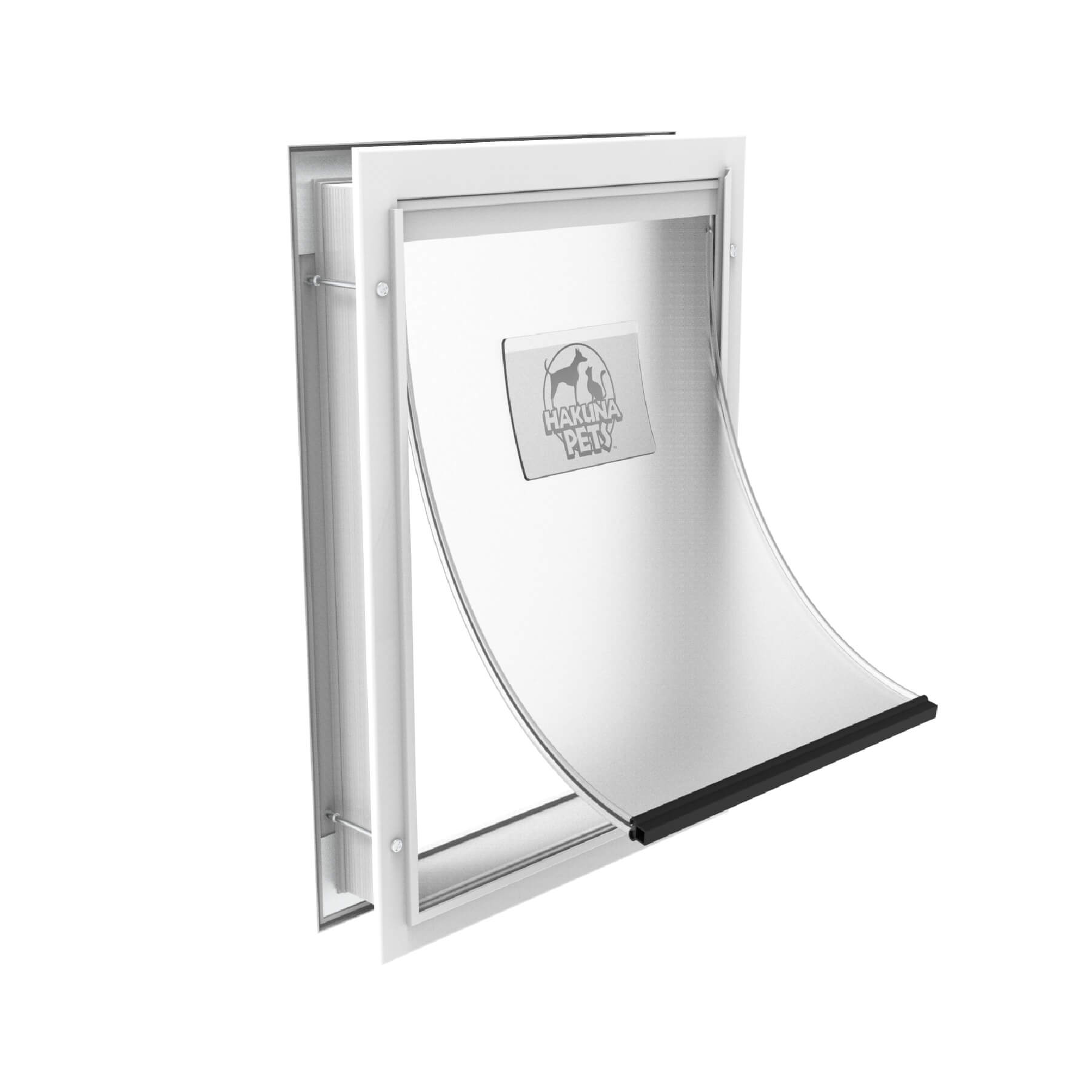 Hakuna Large White Dog Door